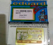 Eduard 1/72 PE set for Mirage 2000C Italeri/Tamiya